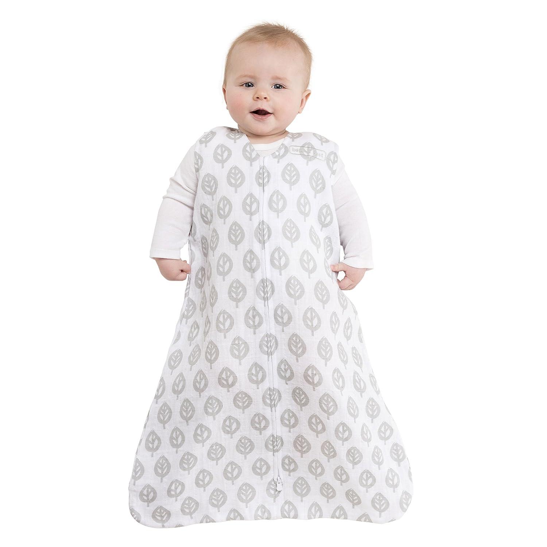 Large Pink Chevron HALO 100/% Cotton Muslin Sleepsack Wearable Blanket