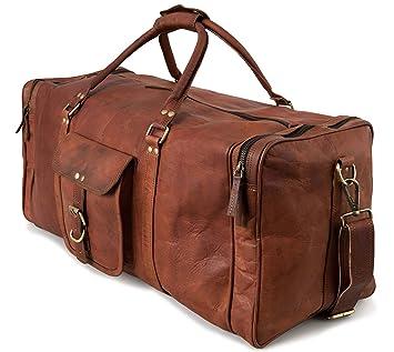 c020a1d97a8f5 Weekender Reisetasche BERLINER BAGS New York XL Geräumige Sporttasche  Wochenendtrip Handgepäck Freizeittasche Gymbag aus echtem Leder