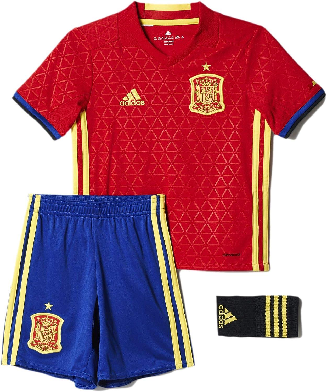 adidas Spain Home Mini Kits [Scarlet/Yellow]