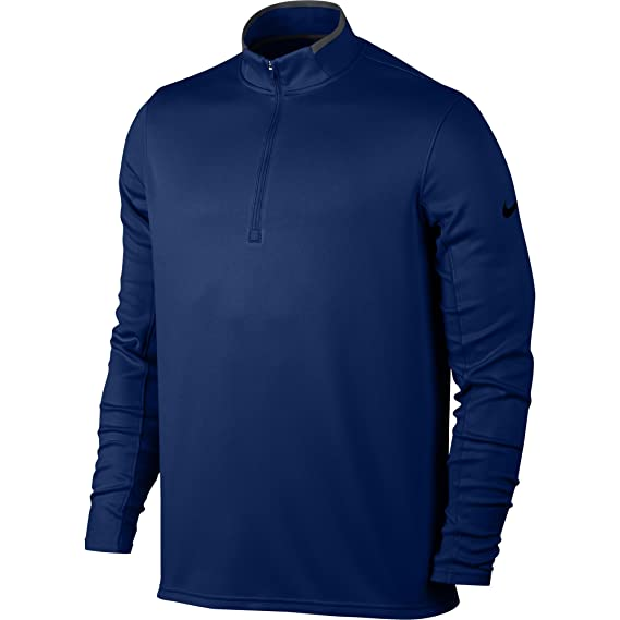 25fbe4da Amazon.com: NIKE Men's Dry Half-Zip Golf Shirt: Clothing