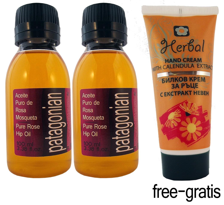 Amazon.com: Conjunto de dos Pure Organic Rosehip Oil ...