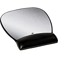 3M Ergonomics Mouse Pad with Gel Wrist Rest, 9.2 and 8.7 Inch, Enhances Mouse at Fast Speeds, Extends Battery upto 50…