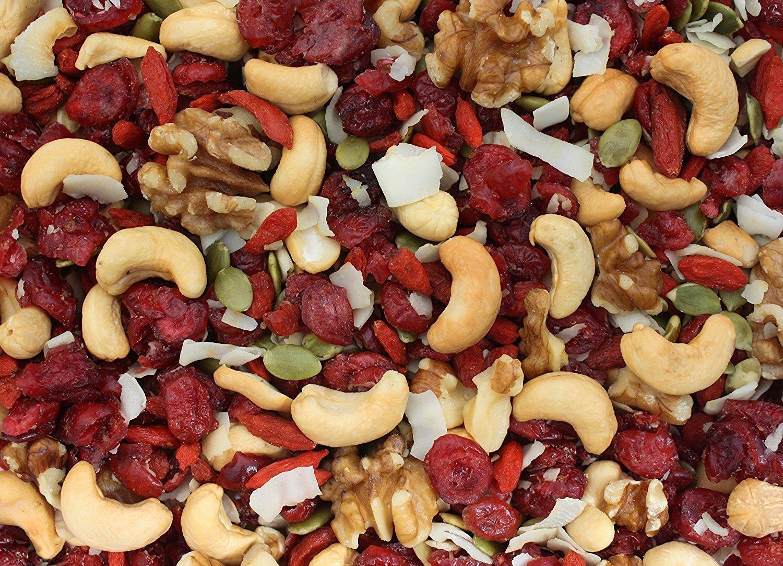 Gourmet Nut Goji Power Trail Mix 13oz Bag by Gourmet Nut