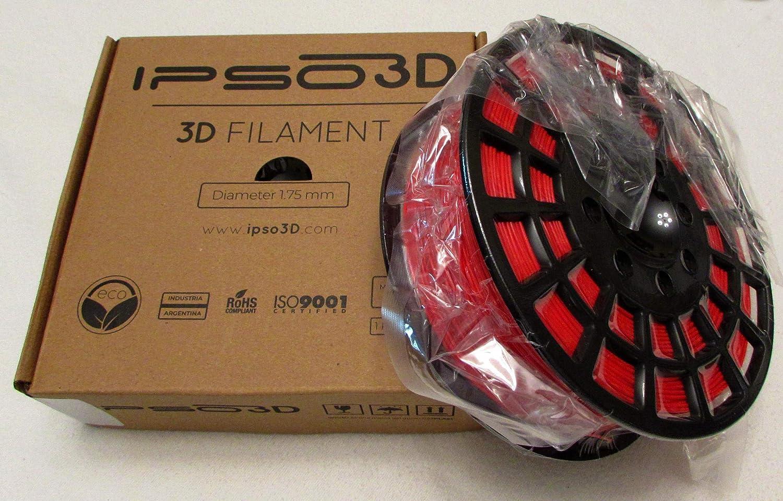 Filamento PLA para impresora 3D, filamento de 1,75 mm, precisión ...