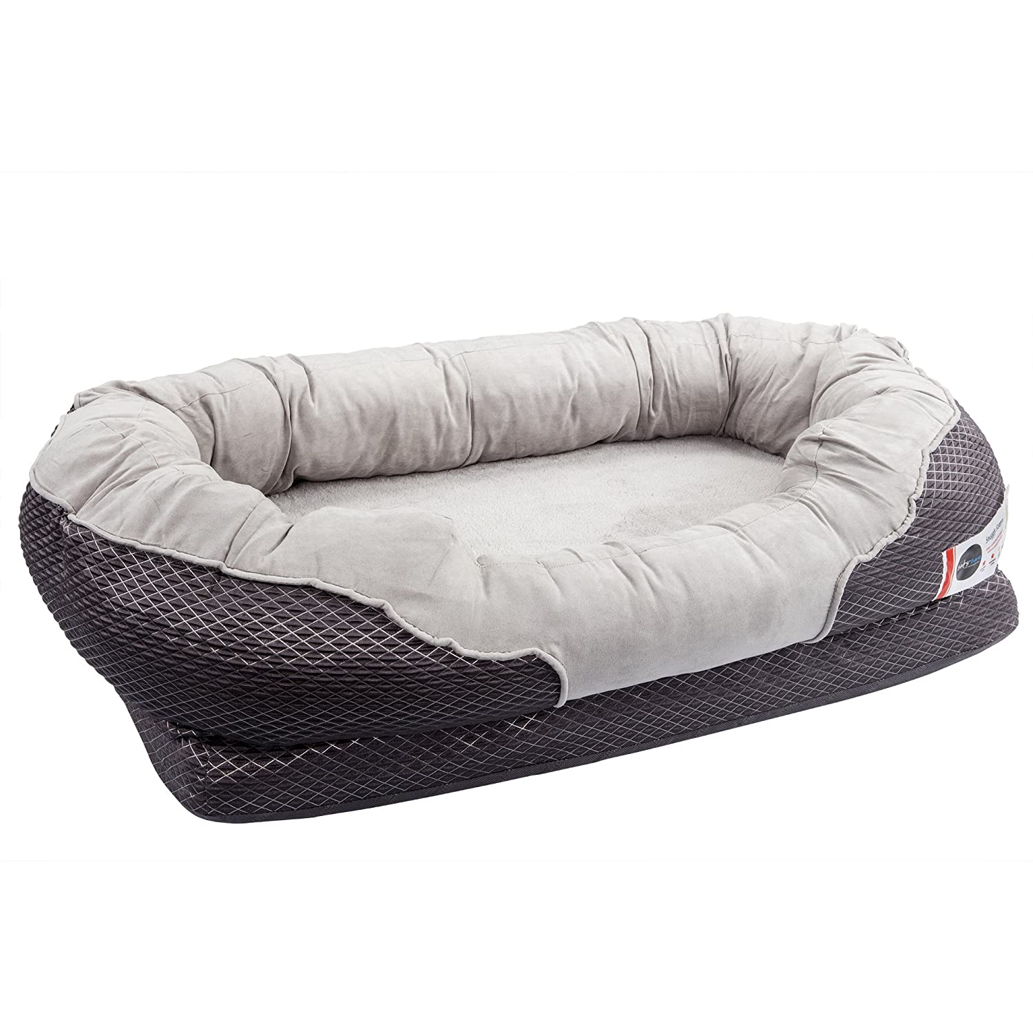 Amazon Com Barksbar Large Gray Orthopedic Dog Bed 40 X 30 Inches