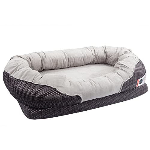 BarksBar Gray Orthopedic Dog Bed Review