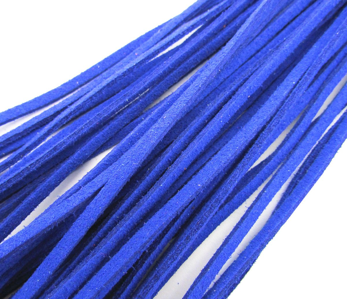 Necklace Cords Blue Cord Rope 20Pcs Leather Each 18 for Jewelry Making Design 3.0mm