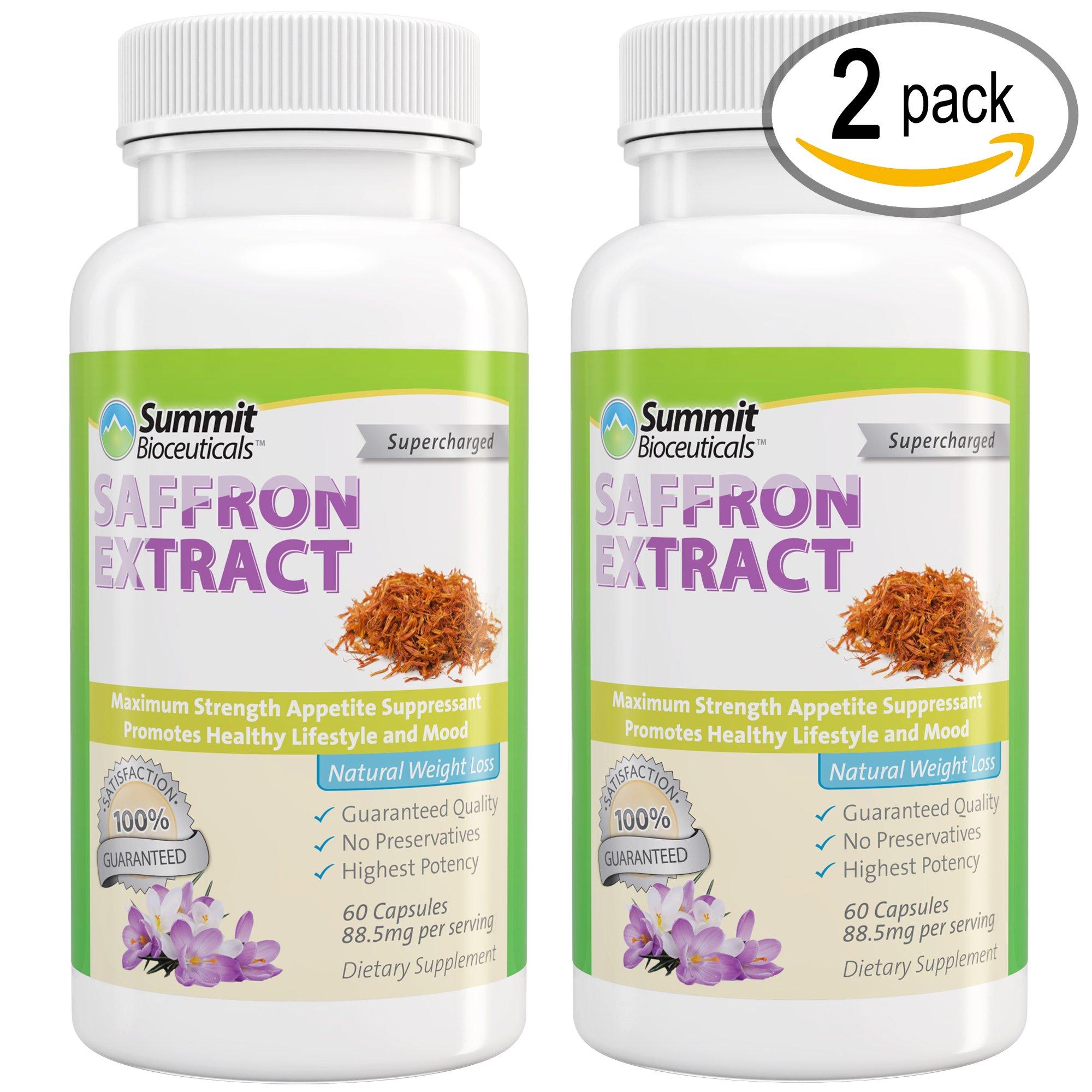 Summit Bioceuticals Saffron Extract (60 Day Supply) by Summit Bioceuticals