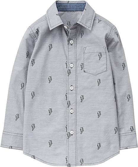 Gymboree Boys Long Sleeve Button Up Shirt