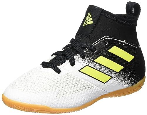 adidas Ace Tango 17.3 In J, Zapatillas de fútbol Sala Unisex niños, Blanco (Ftwbla/Amasol/Negbas), 28.5 EU: Amazon.es: Zapatos y complementos