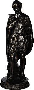 Design Toscano PD1484 Pondering Shakespeare Sculpture,bronze
