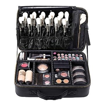 Amazon.com: rownyeon – Maletín de maquillaje Neceser Pequeño ...