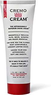 product image for Cremo Original Shave Cream, Astonishingly Superior Smooth Shaving Cream Fights Nicks, Cuts And Razor Burn, 1 Ounce