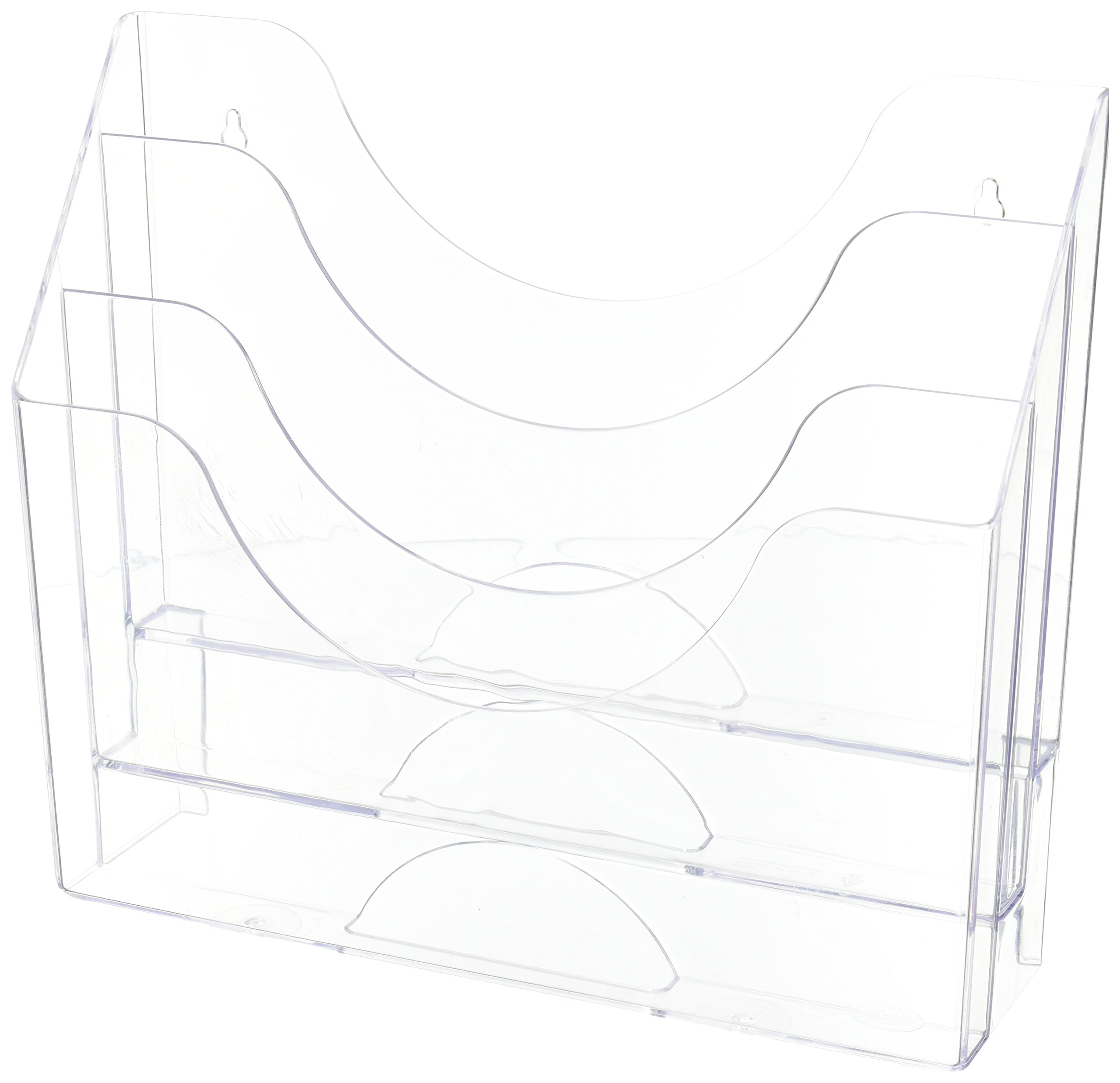 Staples Clear 3-Tier Organizer (96050)