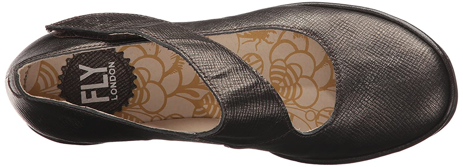 FLY London Damen Yasi682fly Pumps, Schwarz, 36 EU