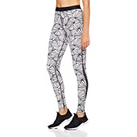 SKINS Women's DNAmic Compression Long Tights Full Length Leggings, Graphic Sunfeather