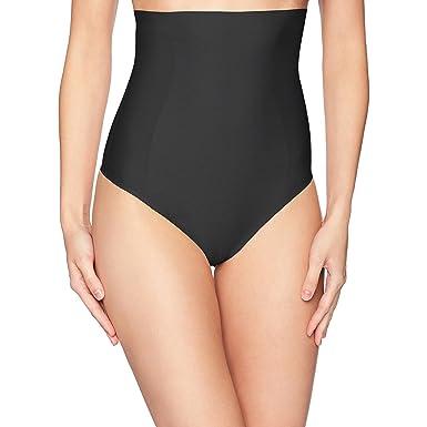 4aa533b98b677 Yummie Women s Hidden Curve High Waist Firm Control Shapewear Thong ...