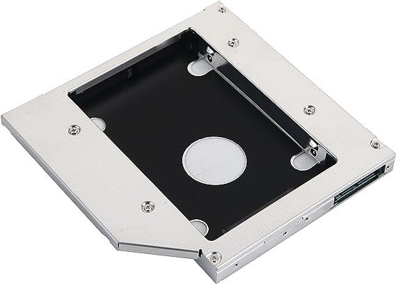 DeYoung 2 nd HDD SSD disco duro Caddy Adaptador para Lenovo IdeaPad G500 G510 G530 G550 G555: Amazon.es: Electrónica