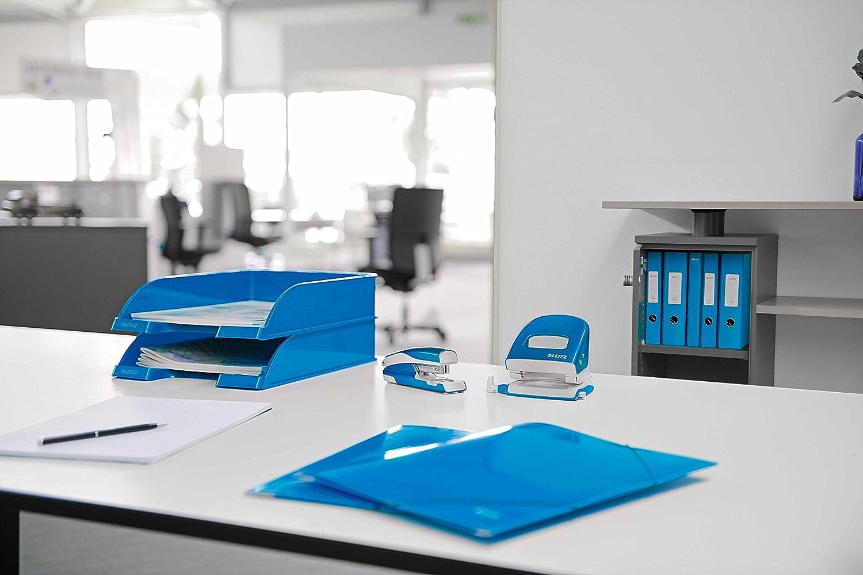 A4 Leitz 60470001/Range-revues pour archivage Click et Store carton gris bleu