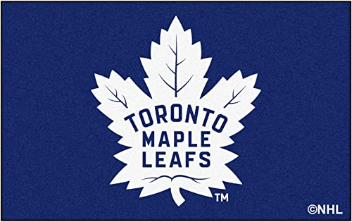 FANMATS NHL Toronto Maple Leafs Nylon Face Ultimat Rug