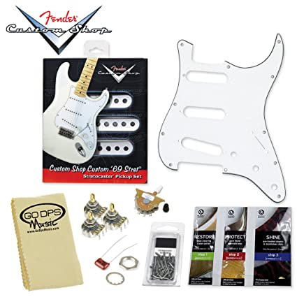 Amazon com: Fender Custom Shop Custom '69 Guitar Pickup Set