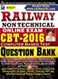 Railway Non Technical Online Exam CBT ? 2016 Question Bank  - 1549 (Old Edition)