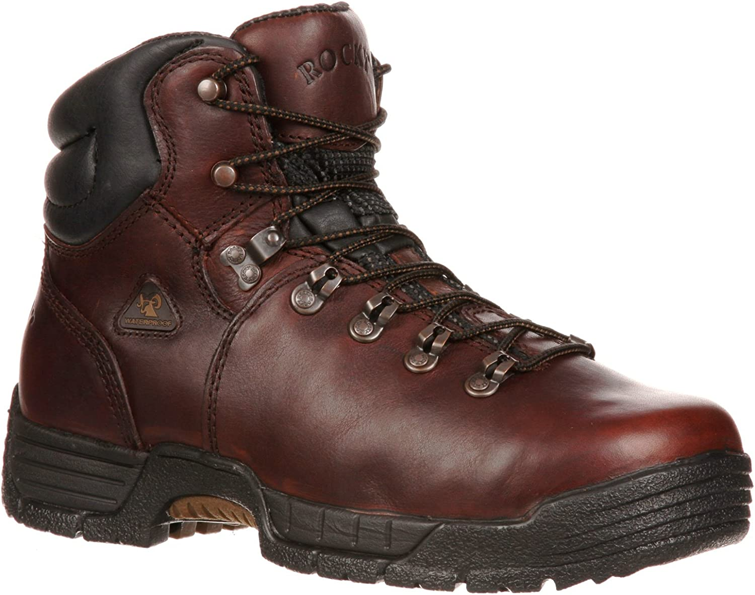 Rocky Men's Mobilite Steel Toe Waterproof Work Boots-6114