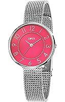 Opex - X3991MA2 - Carolyn - Montre Femme - Quartz Analogique - Cadran Rose - Bracelet Acier Argent