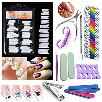 """Finger Toe Nail Scissors Cuticle Clipper 3.5/"""" Straight Manicure Cutter 12 UM"""
