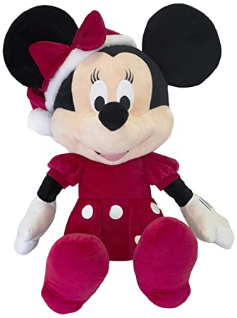 Disney Minnie Mouse de Navidad mn32104 de Peluche, ...