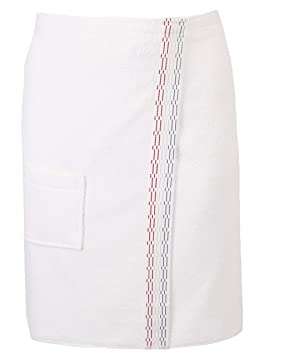 BETZ Toalla Sauna para Hombres 100% algodón con Velcro Color Crema: Amazon.es: Hogar