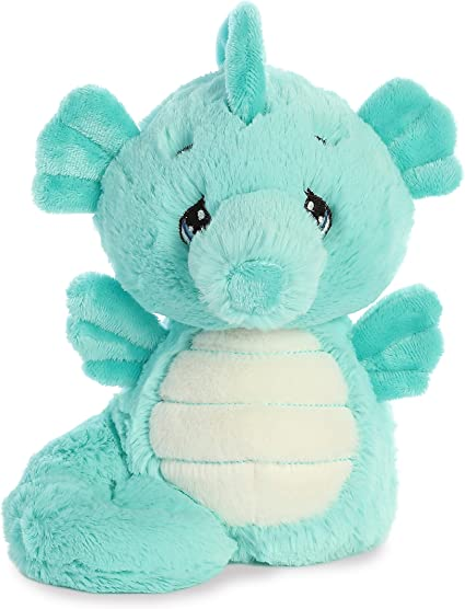 """8/"""" Aurora Precious Moments Embroidered Toy Nico Narwhal Plush"""