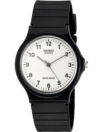2e66dd038ded Casio Reloj Analógico para Hombre de Cuarzo con Correa en Resina MQ-24 -7BLLGF