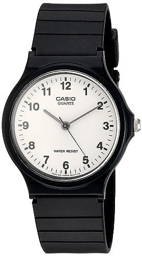Casio Reloj Analógico para Hombre de Cuarzo con Correa en Resina MQ-24-7BLLGF   Casio  Amazon.es  Relojes ae152bbcfd03