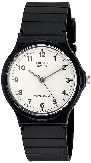 d5e1eb145d8a Casio Reloj Analógico para Hombre de Cuarzo con Correa en Resina MQ-24-7BLLGF   Casio  Amazon.es  Relojes