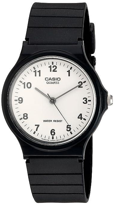 721 opinioni per Casio Collection – Orologio Uomo Cinturino in Resina MQ-24-7BLL