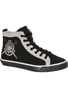 ded3c67cfa0e NJ Screenprints Harry Potter Women's Sneaker Shoes Chibi Style Black ...