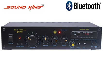 SOUND KING SK 25000 - 2 CH Amplifier