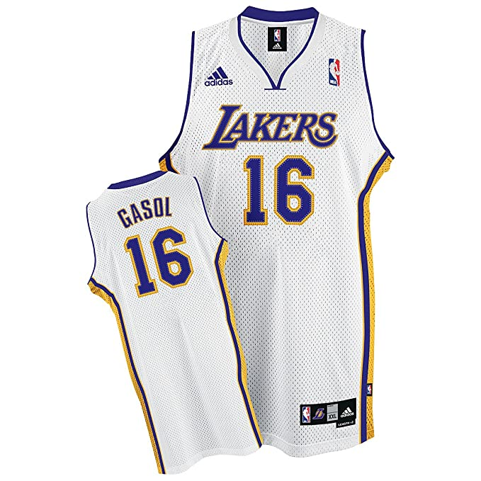 33c936269 Amazon.com   Pau Gasol Los Angeles Lakers Adult Stitched Swingman ...