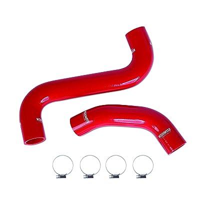 Mishimoto MMHOSE-WRX-01RD Silicone Radiator Hose Kit Fits Subaru Impreza WRX/STI 2001-2007 Red: Automotive