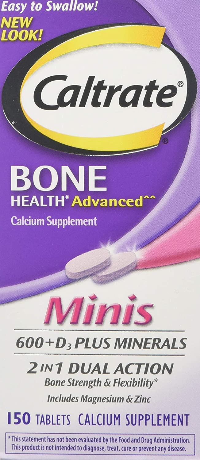 Caltrate Minis + Minerals Size 150ct Caltrate Minis + Minerals 150ct