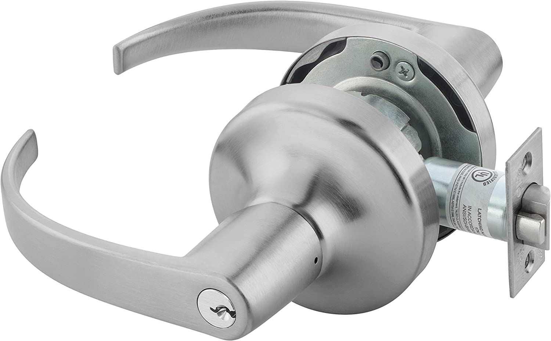 Yale PB4705LN LKSET X 694 Door Lever Lockset Cylinder Lock Storeroom