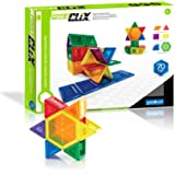 Guidecraft Power Clix Solids Blocks (70 Piece)