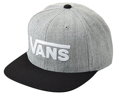 144a91cebb455 VANS バンズ キャップ Drop V II Snapback Cap メンズ【フリー HEGRY(ヘザーグレー×