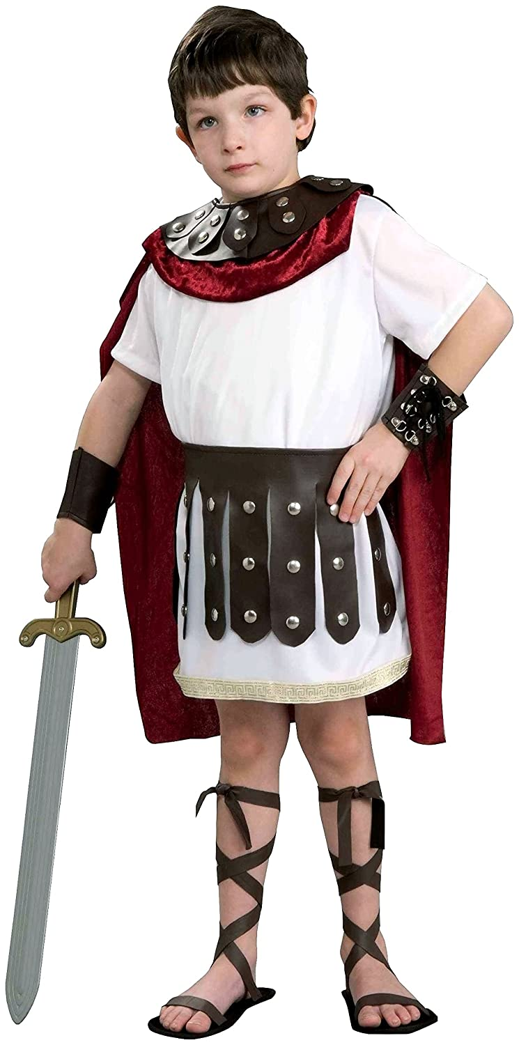 Buy Kids Roman Gladiator Soldier Boys Halloween Costume Child Large (12-14) Online at Low Prices in India - Amazon.in  sc 1 st  Amazon.in & Buy Kids Roman Gladiator Soldier Boys Halloween Costume Child Large ...