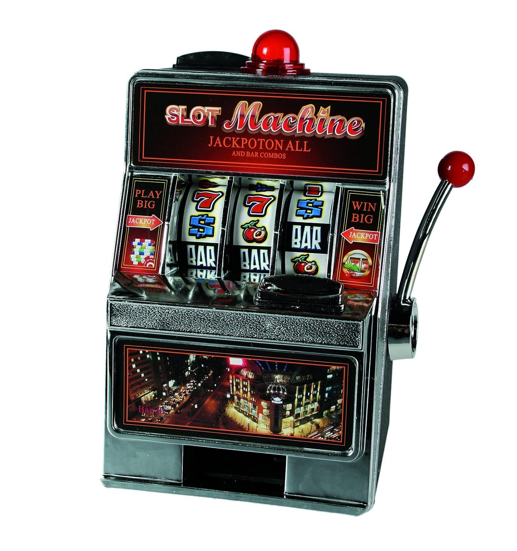 Novedad Divertido Diseño de Casino Slot Machine, caja de ...