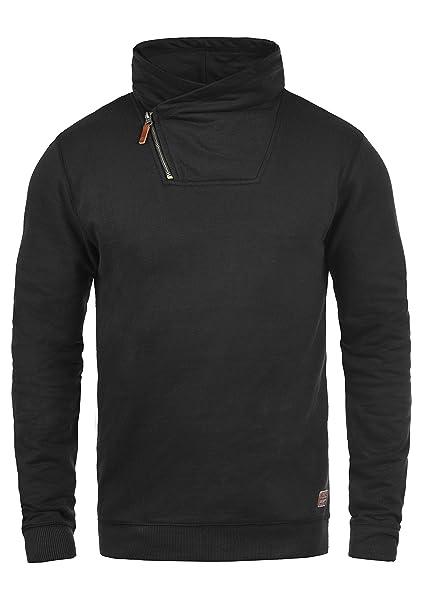 Blend Alexandros Jersey Sudadera Suéter Para Hombre Con Cuello Cruzado Ngz1Ofts