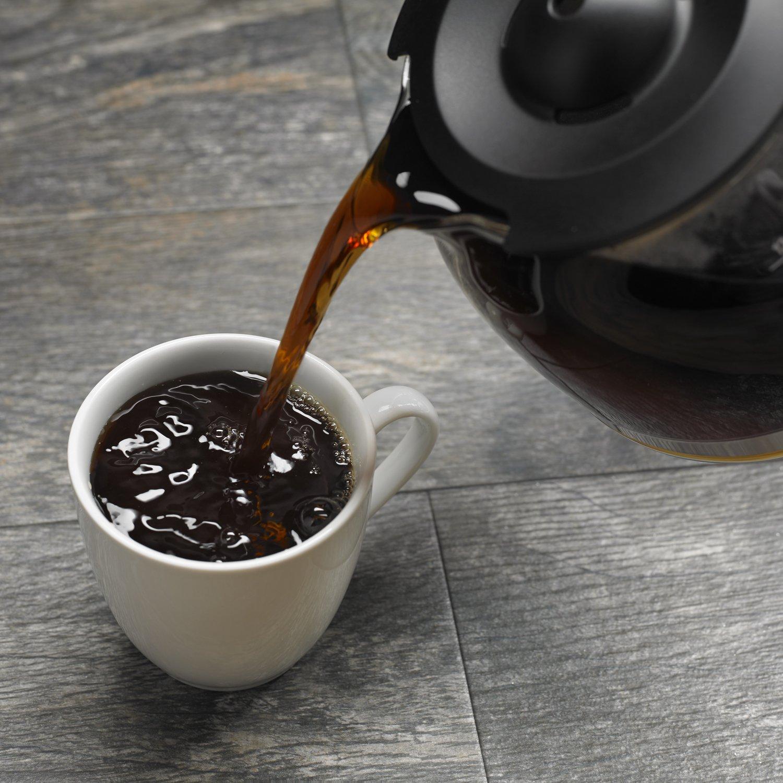 KitchenAid KCM1204OB - Cafetera (Independiente, Cafetera de filtro, De café molido, Negro, Acero inoxidable): Amazon.es: Hogar