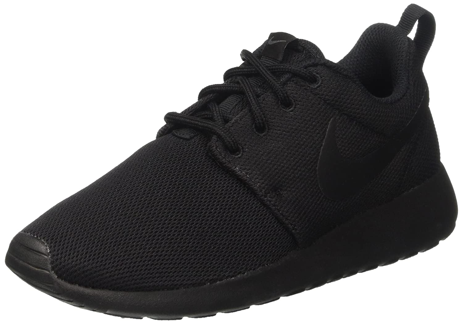 NIKE Women's Roshe One Running Shoe B006YZP6GS 10 B(M) US|Black/Black/Dark Grey