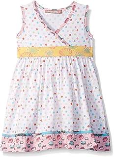 b98a8098941a Jelly the Pug Girls  Little Spring in Paris Polka Dot Abbey Dress